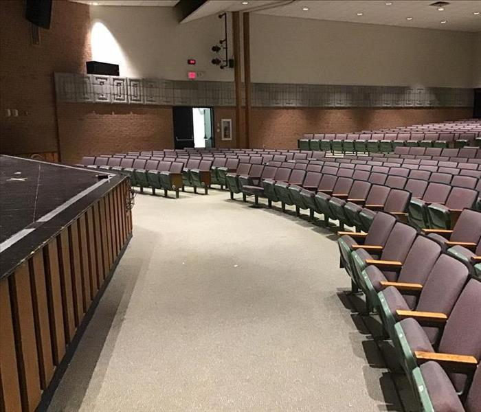Flooded Auditorium After