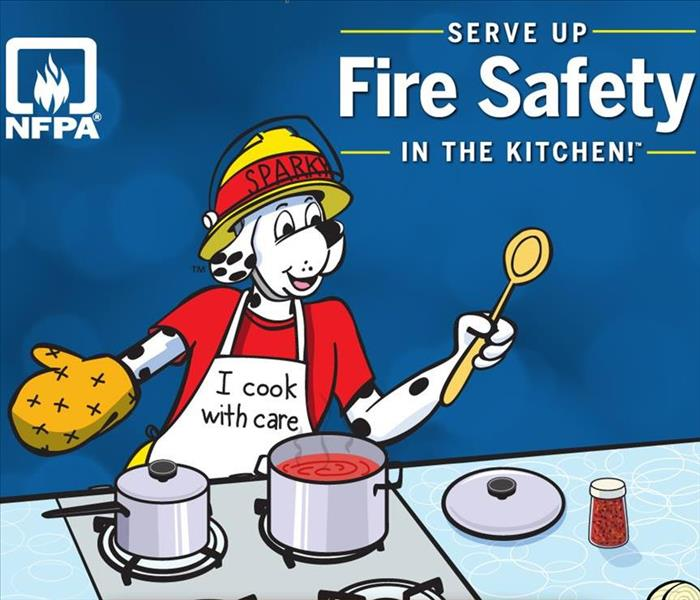 NFPA Dog cooking safely